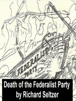 The Death of the Federalist Party