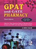 GPAT and Gate Pharmacy 3rd Edition: GPAT and Gate Pharmacy 3rd Edition
