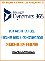 The Project and Resources Management In Dynamics 365 For Architecture, Engineering & Construction Services Firms