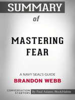 Summary of Mastering Fear