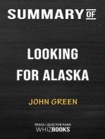 Summary of Looking for Alaska by John Green | Trivia/Quiz for Fans