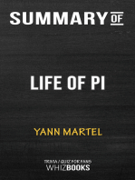 Summary of Life of Pi by Yann Martel | Trivia/Quiz for Fans