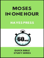 Moses in One Hour