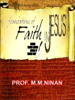 Foundations of Faith in Jesus Christ