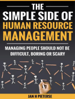 The Simple Side Of Human Resource Management: Simple Side Of Business Management, #1