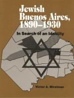 Jewish Buenos Aires, 1890-1939