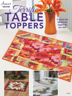 Terrific Table Toppers