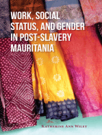 Work, Social Status, and Gender in Post-Slavery Mauritania