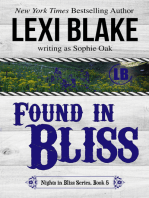 Found in Bliss, Nights in Bliss, Colorado, Book 5