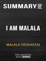 Summary of I Am Malala by Malala Yousafzai | Trivia/Quiz for Fans