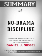 Summary of No-Drama Discipline