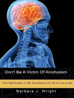 Don't Be a Victim of Alcoholism