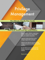 Privilege Management The Ultimate Step-By-Step Guide
