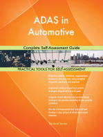 ADAS in Automotive Complete Self-Assessment Guide