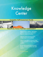 Knowledge Center Complete Self-Assessment Guide