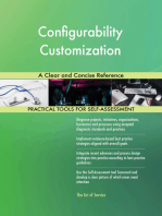 Configurability Customization A Clear and Concise Reference