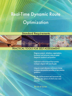 Real-Time Dynamic Route Optimization Standard Requirements