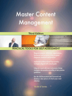 Master Content Management Third Edition