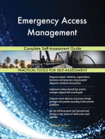 Emergency Access Management Complete Self-Assessment Guide