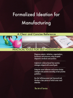 Formalized Ideation for Manufacturing A Clear and Concise Reference