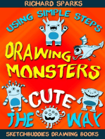 Drawing Monsters the Cute Way