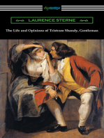 The Life and Opinions of Tristram Shandy, Gentleman (with an Introduction by Wilbur L. Cross)