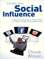 Under the Social Influence: Going From Reckless to Responsible in Today's Socially Distracted Society
