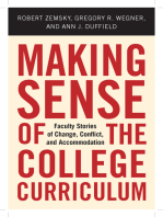Making Sense of the College Curriculum