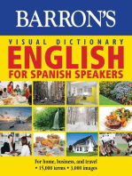 Barron's Visual Dictionary:English for Spanish Speakers:For Home, For Business, and Travel