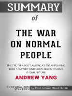 Summary of The War on Normal People
