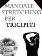 Manuale Stretching per Tricipiti