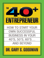 The Forty Plus Entrepreneur