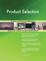 Product Selection A Clear and Concise Reference