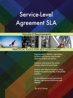 Service-Level Agreement SLA Standard Requirements