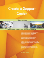 Create a Support Center Third Edition