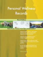 Personal Wellness Records Third Edition
