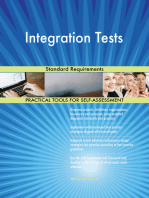 Integration Tests Standard Requirements