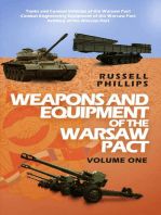 Weapons and Equipment of the Warsaw Pact: Volume 1: Weapons and Equipment of the Warsaw Pact, #3.5