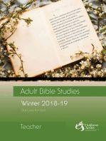 Adult Bible Studies Winter 2018-2019 Teacher