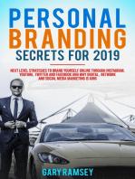 Personal Branding Secrets For 2019