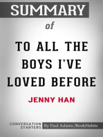 Summary of To All the Boys I've Loved Before