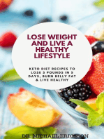 Lose Weight and Live a Healthy Lifestyle