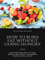 How to Burn Fat Without Going Hungry