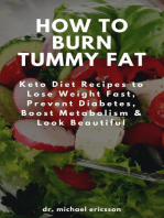 How to Burn Tummy Fat