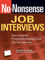 No-Nonsense Job Interviews