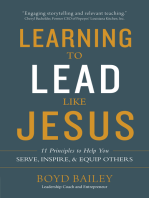 Learning to Lead Like Jesus