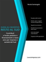 Guida all'incentivo Resto al Sud