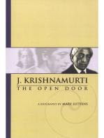 Mary Lutyens - 3. Krishnamurti. The Open Door