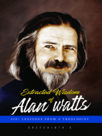 Extracted Wisdom of Alan Watts