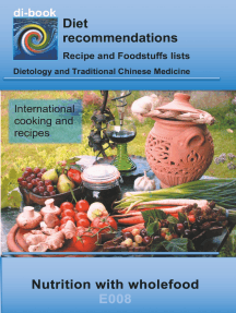 Nutrition with wholefood: E008 DIETETICS - Universal - Wholefood